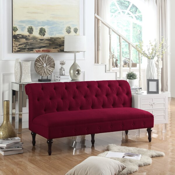 Get Great Deals Lauryn Chesterfield Sofa by Ophelia & Co. by Ophelia & Co.