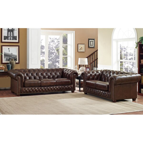 Worcester 2 Piece Living Room Set by Trent Austin Design