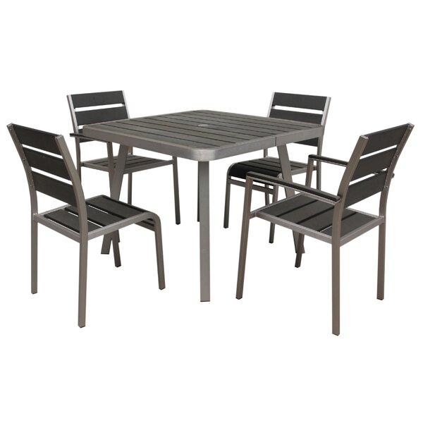 Santorini 5 Piece Dining Set by Boraam Industries Inc