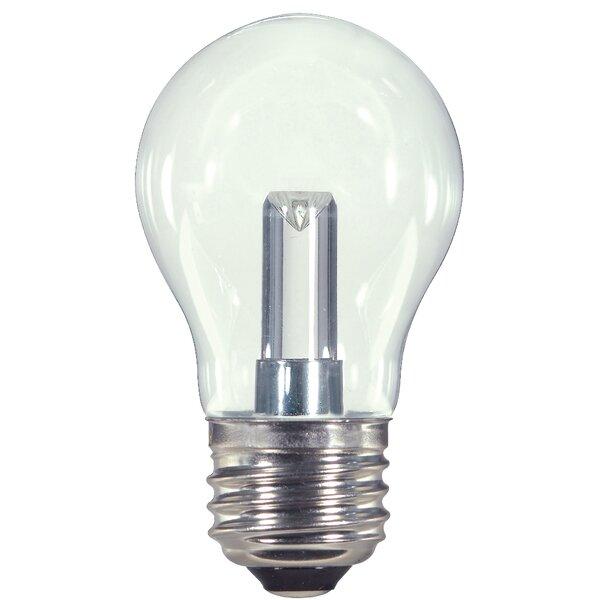 1W E26 Medium Standard LED Light Bulb by Satco