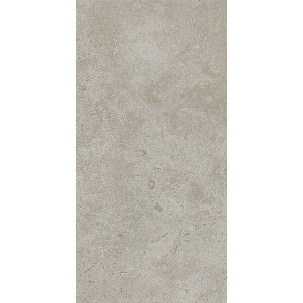 Kent 12 W x 24 Porcelain Field Tile in Subtle Ivory by Parvatile