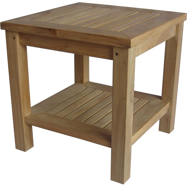 Ove Teak Side Table by August Grove