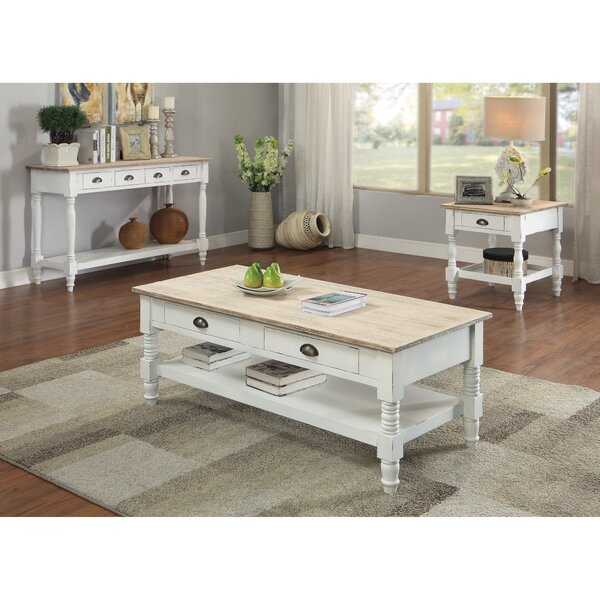 Abby Ann 3 Piece Coffee Table Set By August Grove