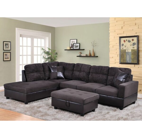Aiden Sectional by Beverly Fine Furniture