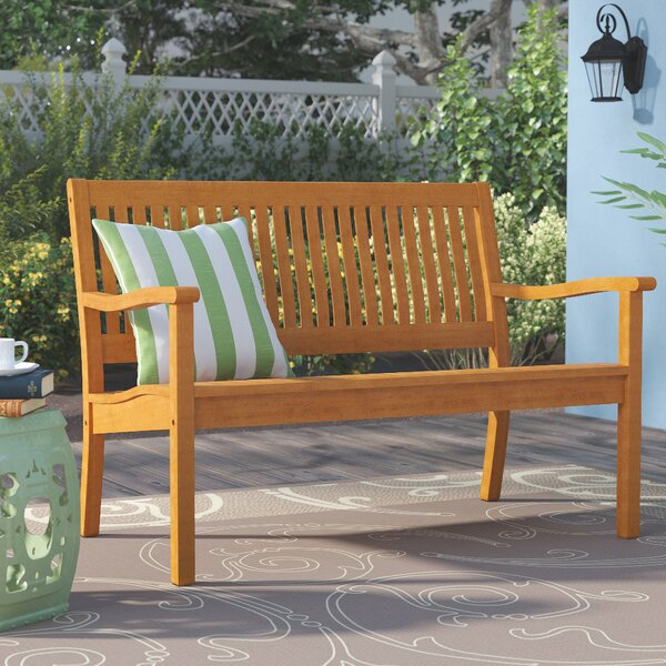 Linntown Garden Bench by Three Posts