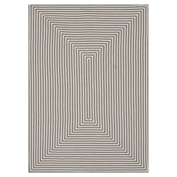 Kircher Gray Indoor/Outdoor Area Rug by Charlton Home
