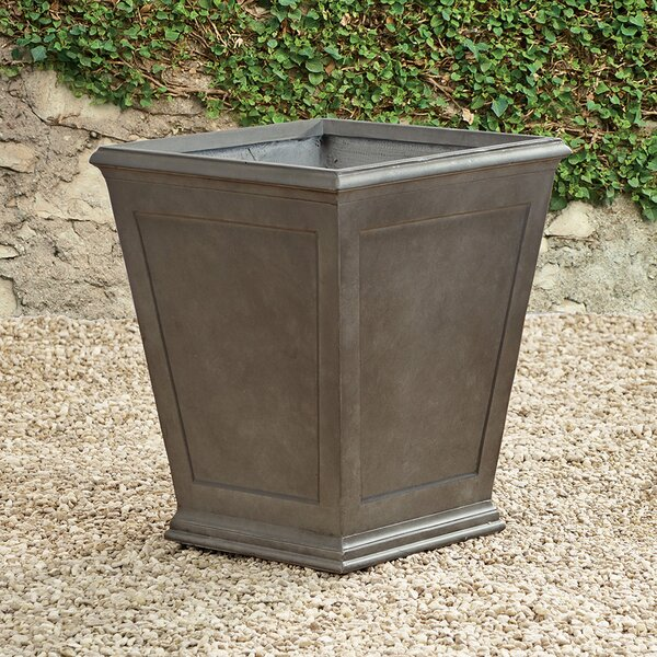 Fales Fibreclay Faux Lead Planter Box by Darby Home Co