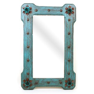 Affordable Large Bloom Rustic Accent Mirror By My Amigos Imports