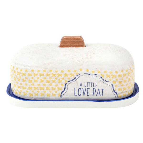 Clever Kitchen Butter Dish by Hallmark Home & Gifts