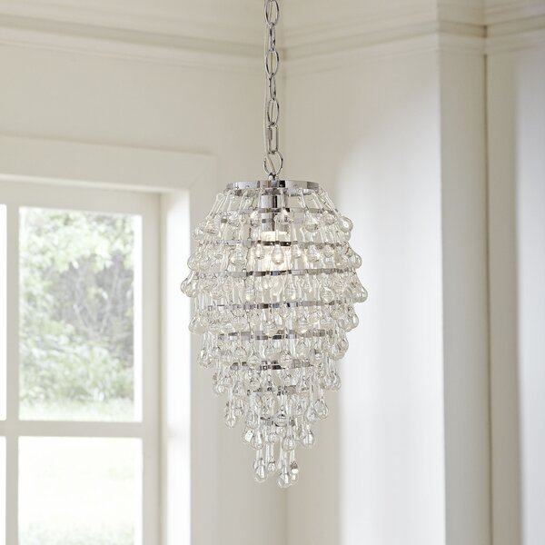Sophia Teardrop 1-Light Novelty Pendant by Birch L