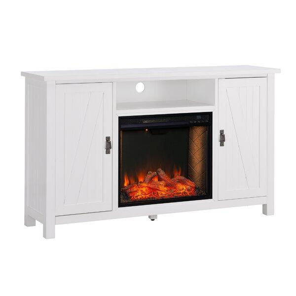 Adderley Alexa Enabled Media Fireplace By Latitude Run