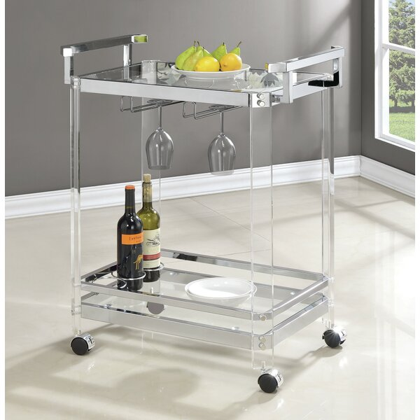 Violet Bar Cart by Wade Logan