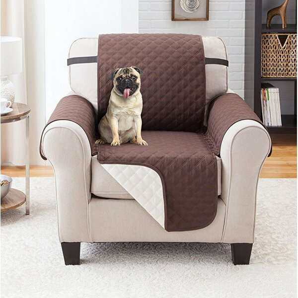 Reversible Armchair Slipcover By Winston Porter.
