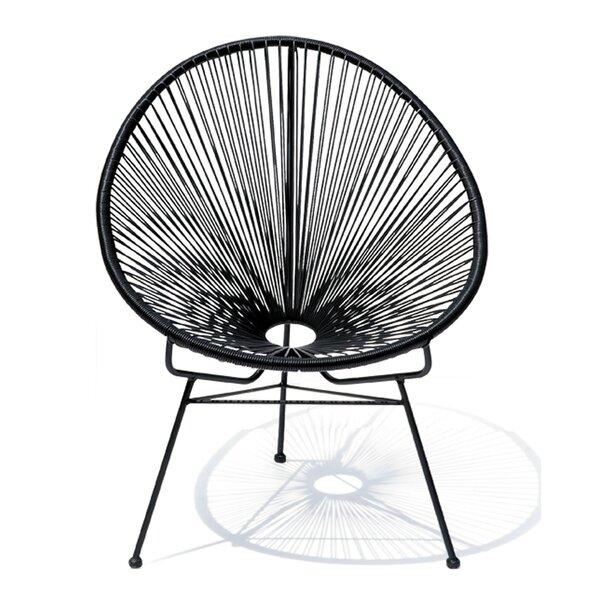 Meyerwood Wicker Patio Chair (Set of 4) by Latitude Run Latitude Run