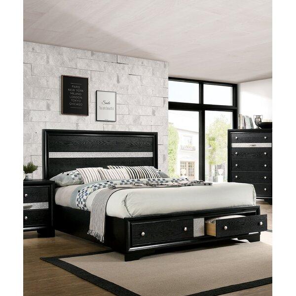 Seman Storage Platform Bed by Everly Quinn
