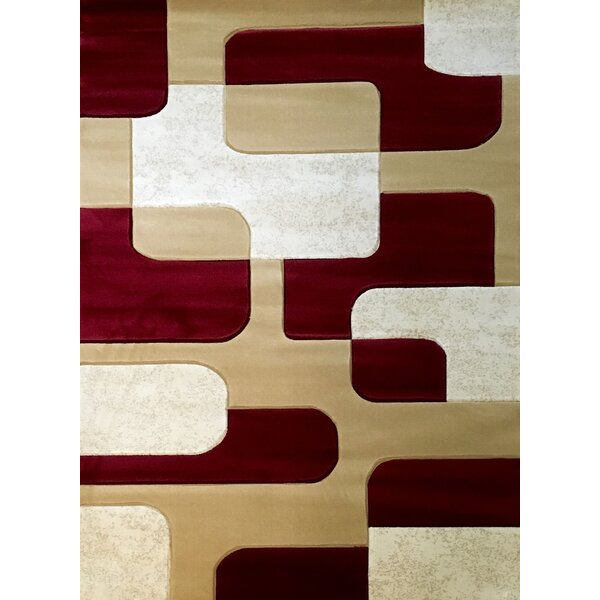 Labella Red Area Rug by Bekmez International Inc.