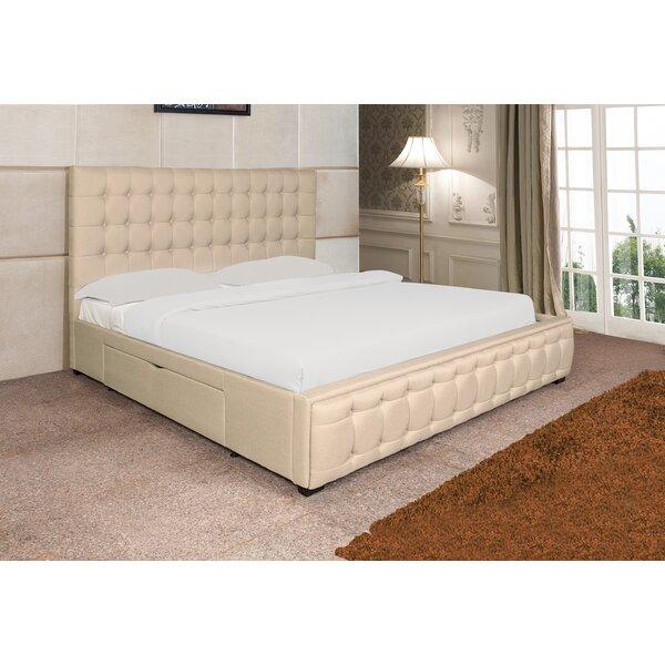 Stina Upholstered Storage Platform Bed by Willa Arlo Interiors