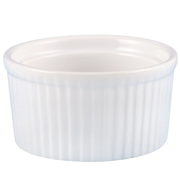 Iron Works 3 oz. Ceramic Ramekin by Creative Home