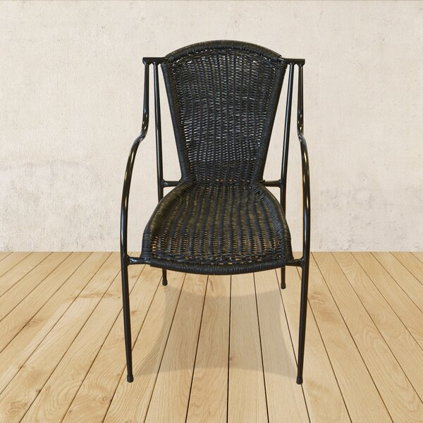 Stacking Patio Dining Chair (Set of 2) by Restaurant Products Guild Restaurant Products Guild