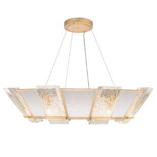 Crownstone 16-Light Geometric Chandelier by Fine Art Lamps