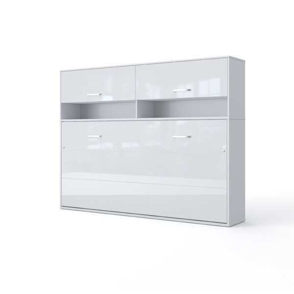 Vouni Twin Storage Murphy Bed by Brayden Studio Brayden Studio