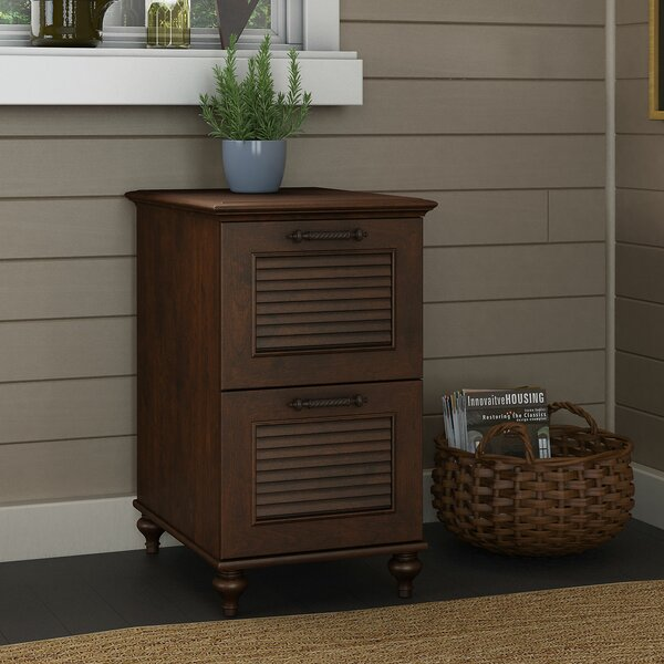 Volcano Dusk 2-Drawer Vertical Filing Cabinet by Kathy Ireland Office by Bush
