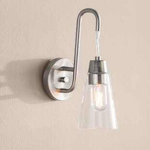 Affordable Price Irina 1-Light Armed Sconce By Ivy Bronx
