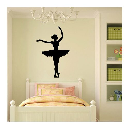Personalized dancer ZEBRA 5 inch decal sticker dance studio name /& your name