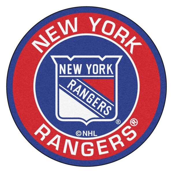 NHL New York Rangers Roundel Mat by FANMATS