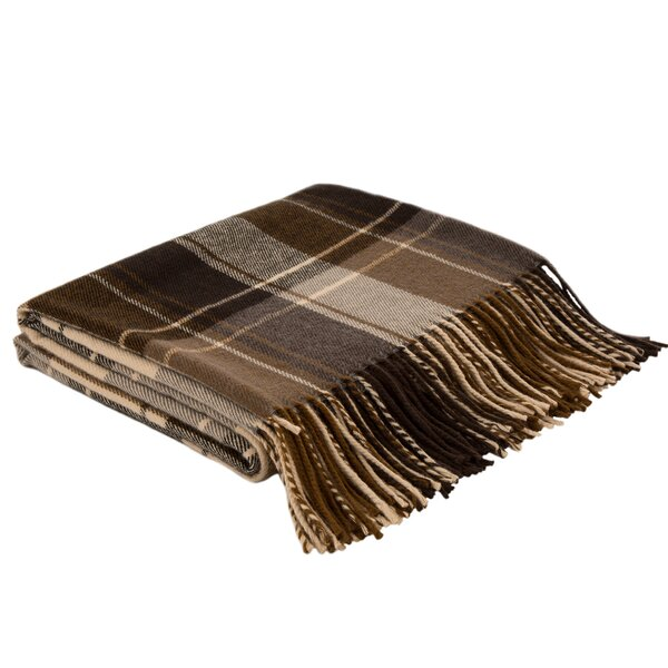 Peasely Plaid Woven Throw by Alcott Hill