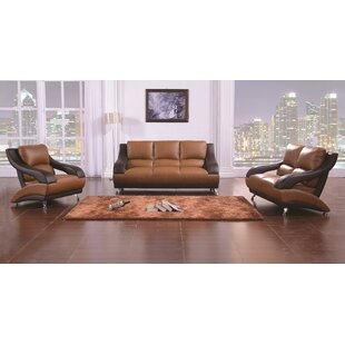 Quinerly 3 Piece Living Room Set by Orren Ellis