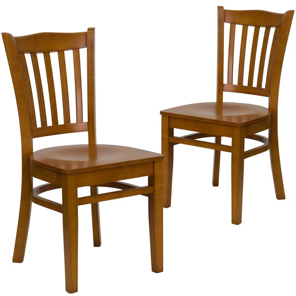 Chafin Vertical Dining Chair (Set Of 2) By Winston Porter
