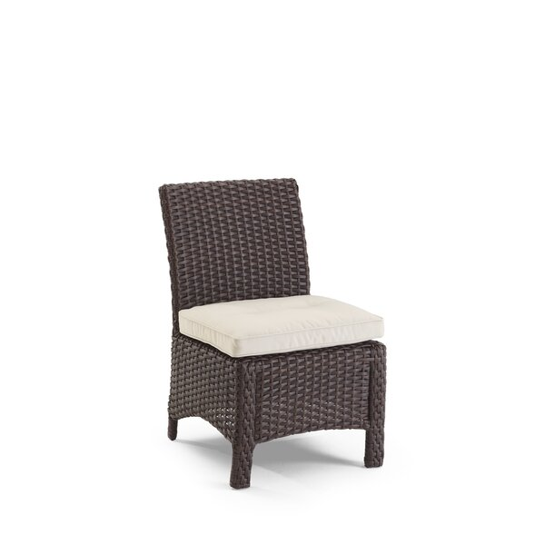Fenley Patio Dining Chair with Cushions by Darby Home Co