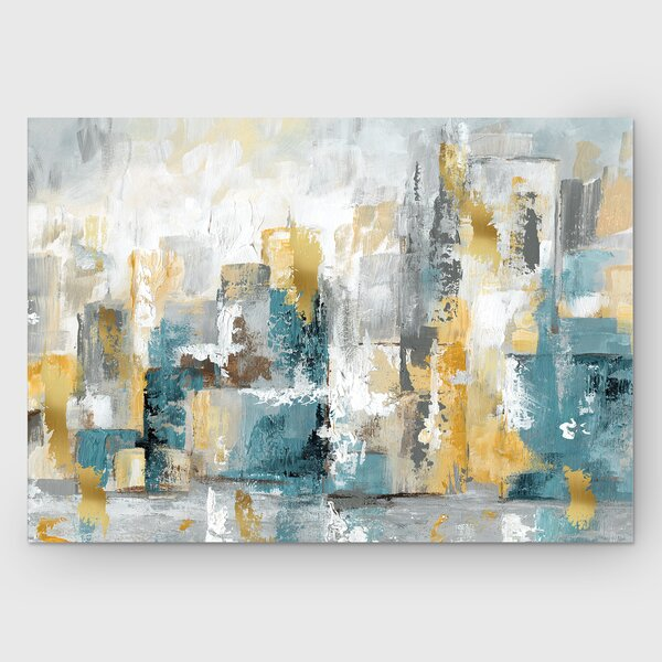 City Views I Painting Print On Wrapped Canvas By Ebern Designs.
