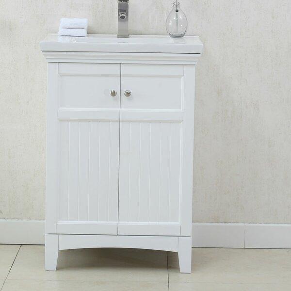 Perrone 24 Single Bathroom Vanity Set by Three Posts