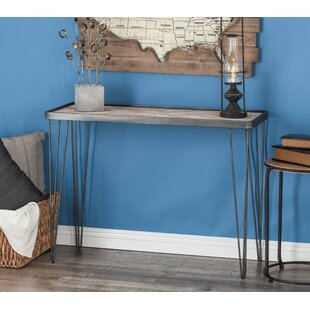 Superieur Metal/Wood Console Table