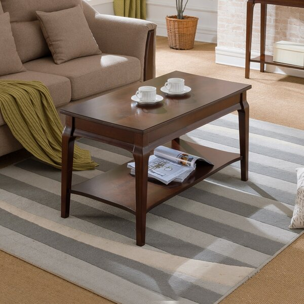Jacobsen Condo or Apartment Coffee Table by Charlton Home