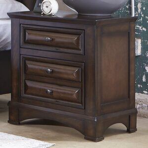 Aranha 2 Drawer Nightstand by Darby Home Co