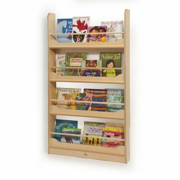 5 Compartment Book Display by Whitney Brothers