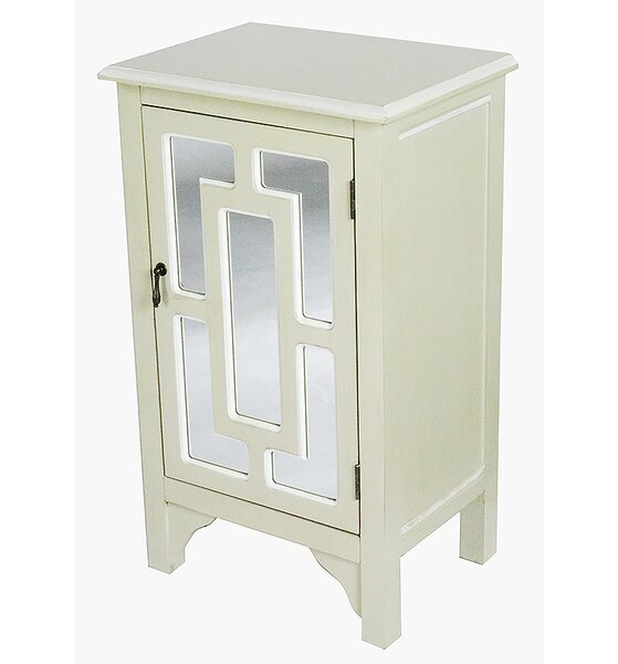 Winebarger 1 Door Accent Cabinet by Charlton Home Charlton Home