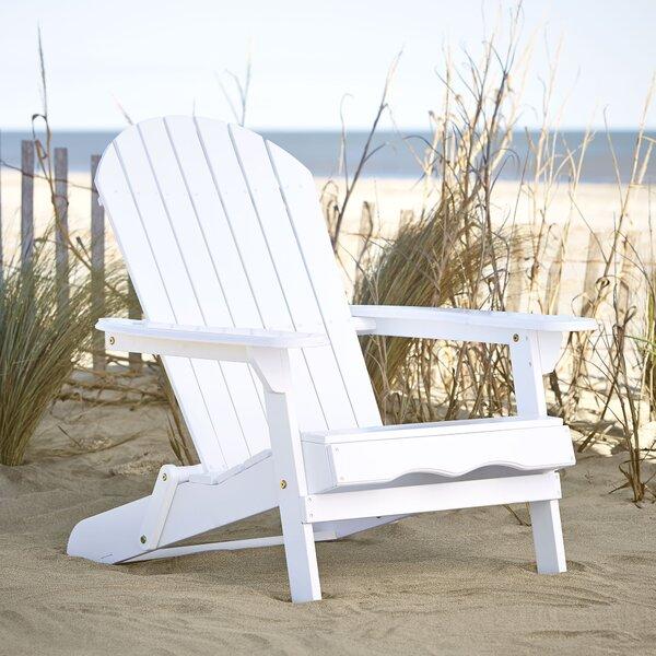 Ridgeline Solid Wood Folding Adirondack Chair by B