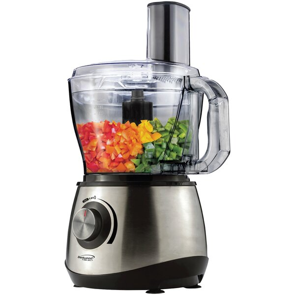 8-Cup Food Processor by Brentwood Appliances