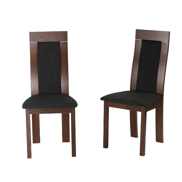 Enosburgh Upholstered Side Chair In Charcoal (Set Of 2) By Brayden Studio