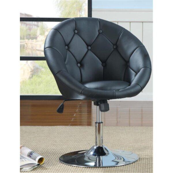 Onley Swivel Barrel Chair By Orren Ellis