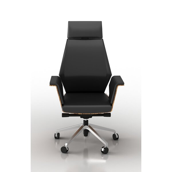 Kovacs Height Adjustable Executive Chair by Latitude Run