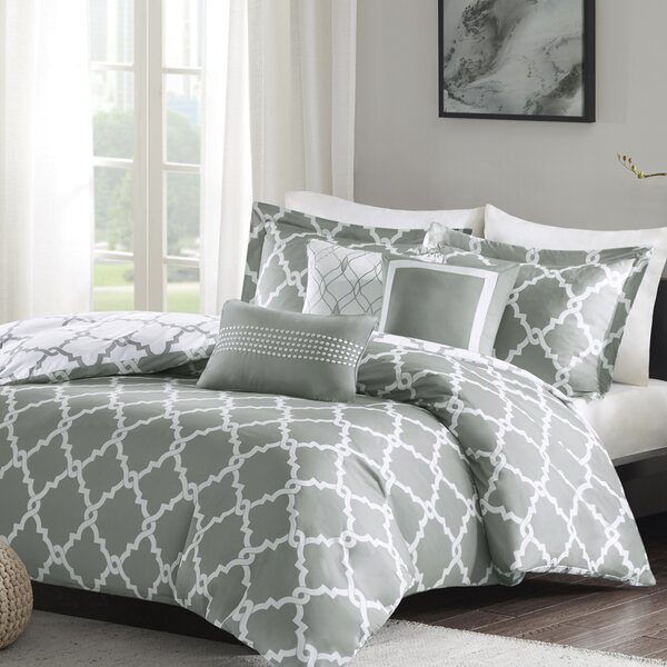 Alta 6 Piece Reversible Duvet Cover Set by Zipcode