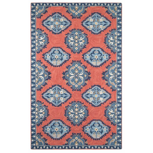 Old Glory Hand Hooked Wool Red/Blue Area Rug by CompanyC