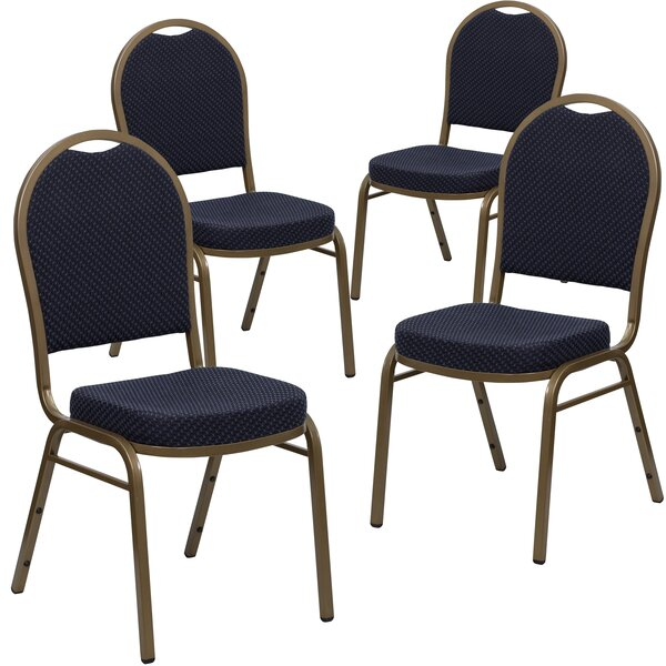 Laduke Dome Banquet Chair (Set of 4) by Symple Stuff