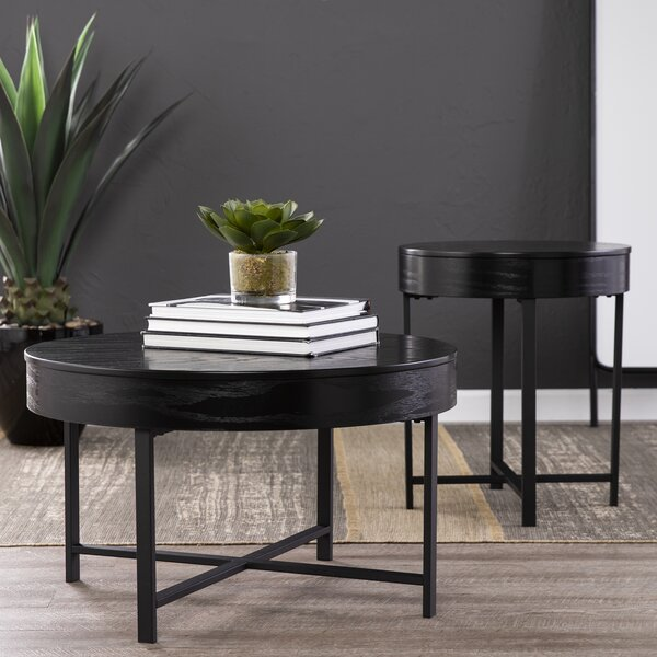 Ethel 2 Piece End Table Set with Storage by Latitude Run