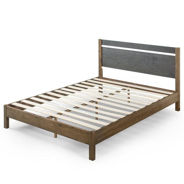 Prins Wood Platform Bed by Foundry Select